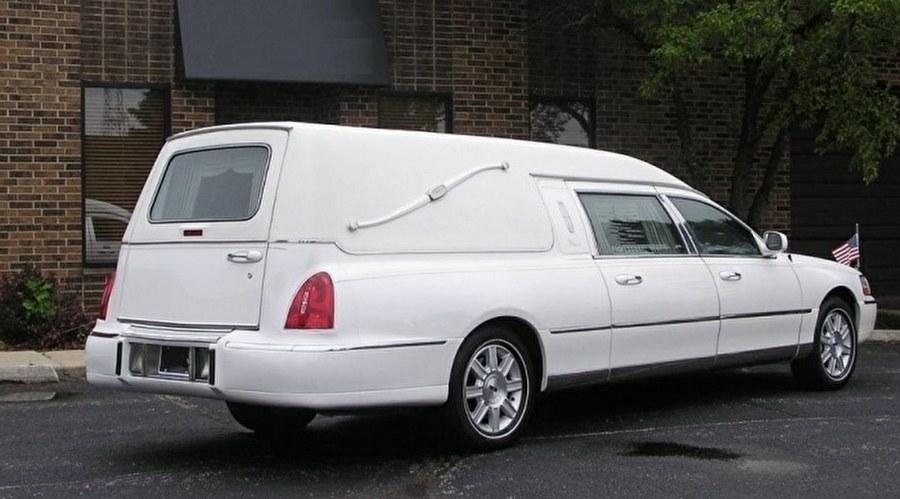 Amerikaanse rouw- en begrafenis autos