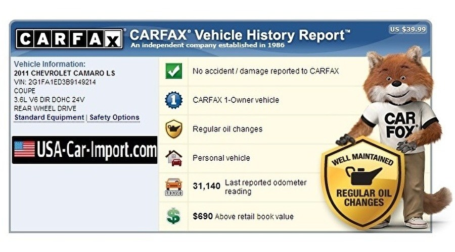 USA CAR IMPORT ONLY BUYS CARS WITH A CLEAN CARFAX