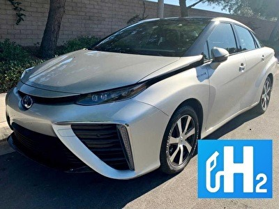 Toyota Mirai op waterstof